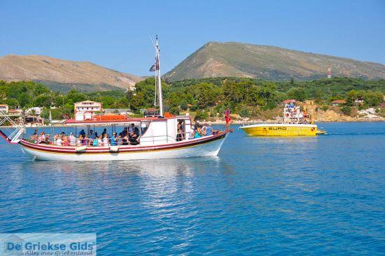 Bootje bij Zakynthos
